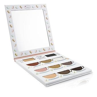 Thebalm What's The Tea? Hot Tea Eyeshadow Palette (warm Shades With Eyelid Primer) - -