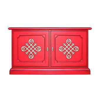Credenzina bassa - mobile tv RED-YOU