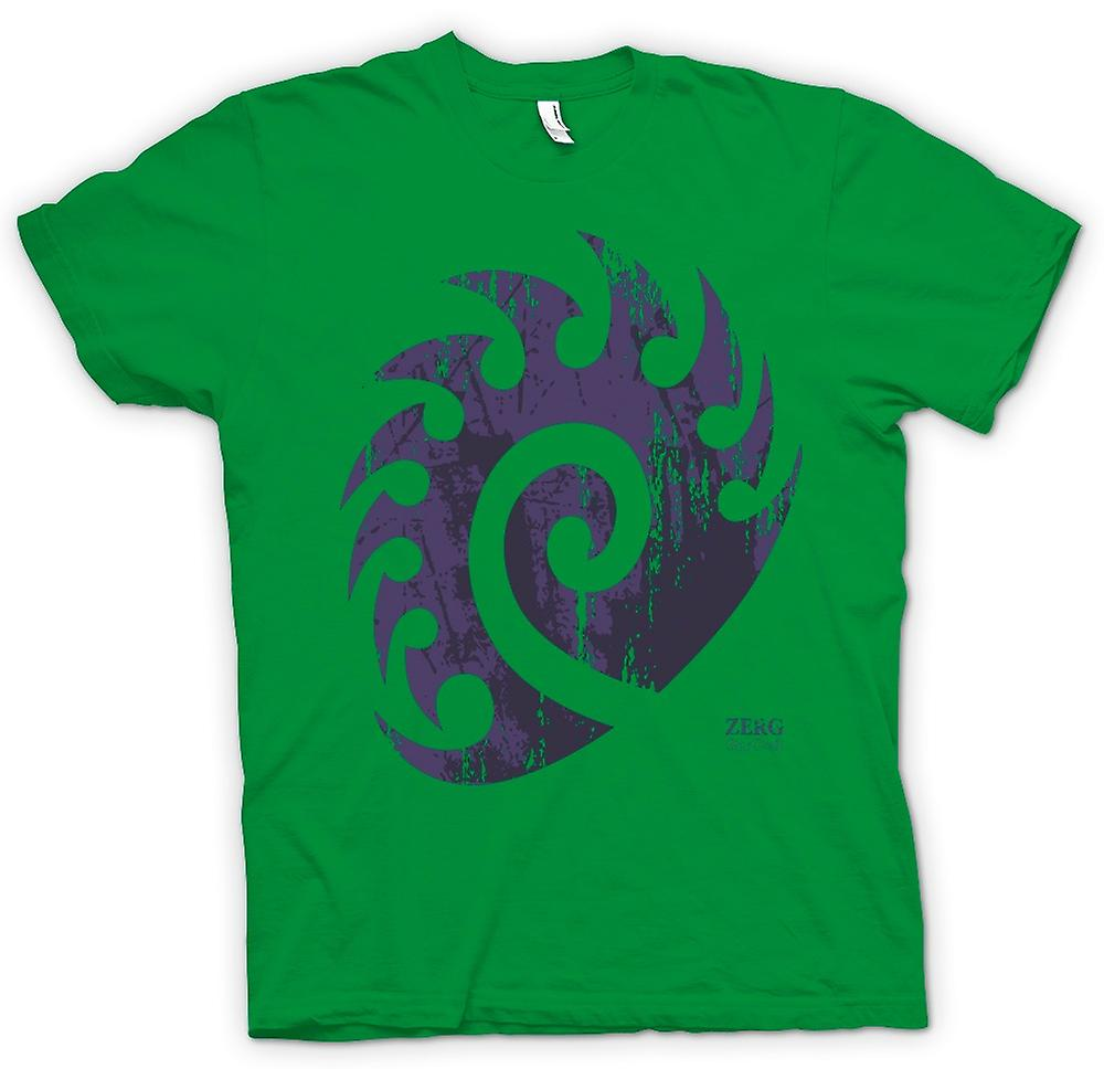 Mens T-shirt - Star Craft Inspired - Zerg