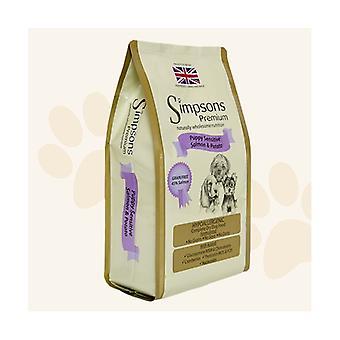 Simpsons Premium Puppy Sensitive Salmon & Potato Dry Dog Food - 2kg