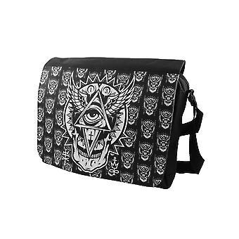 Darkside - all seeing eye - messenger bag - black