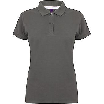 Henbury - Women's Ladies Micro-Fine Piqué Polo Shirt