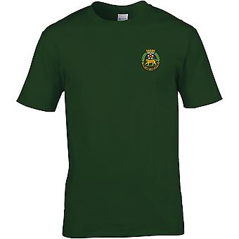 York And Lancaster Regiment - Licensed British Army Embroidered Premium T-Shirt