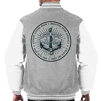 London Banter Anchor Logo Men's Varsity Jacket