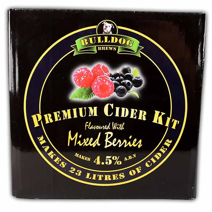 Bulldog Brew Perfect Mixed Berries Flavoured Cider