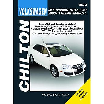 Volkswagen Jetta/Rabbit/GTI & Golf 2006-11: Does not include 2005 Jetta (based on the A4 platform) or 2006 1.8L GTI models, 2011 2.0L 8-Valve Sedan models (based on the A6 platform), Diesel Engi
