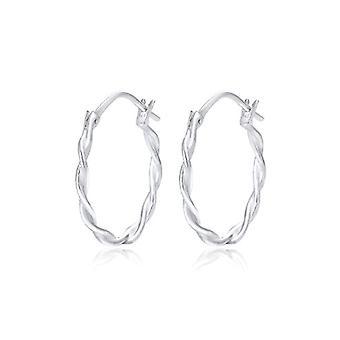 Elli Silver Women's Hoop Earrings 925_silver