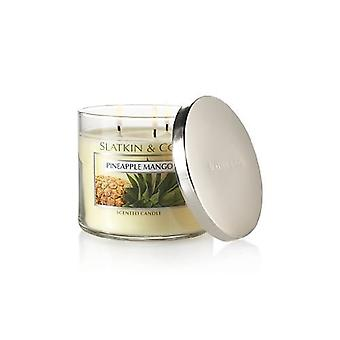 Bath & Body Works Pineapple Mango 3 Wick Scented Candle 14.5 oz / 411 g