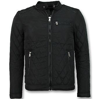 Heren jas kort model - Slim Fit Jack - Zwart
