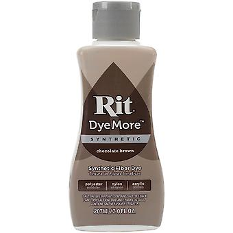 Rit Dye More Synthetic 7oz-Chocolate Brown 020-21