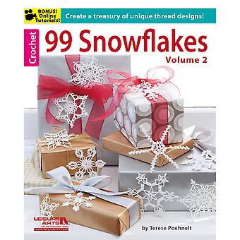 Leisure Arts 99 Snowflakes, Volume 2 La 5839