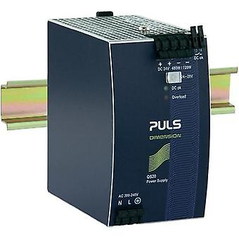 Rail mounted PSU (DIN) PULS DIMENSION QS20.244 24 Vdc 20 A 480 W 1 x
