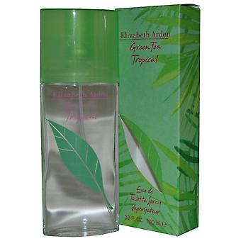 Elizabeth Arden Green Tea tropiske Eau de Toilette Spray 100ml
