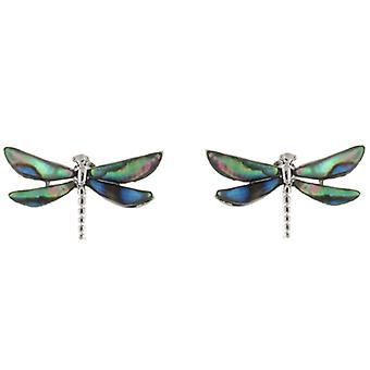 Abalone Paua Shell groene Dragonfly Earrings Stud Earrings