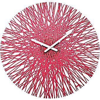 Red Koziol Silk Clock