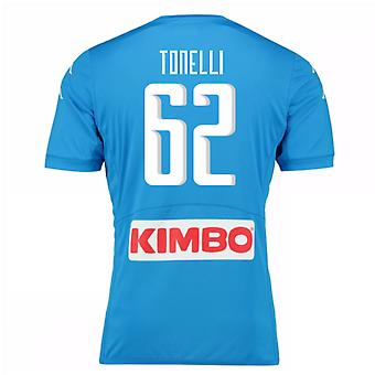 2016-17 Napoli Authentic Home Shirt (Tonelli 62)