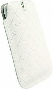 Krusell Coco cellphone pouch size: L 116 x 62 x 12 mm in white