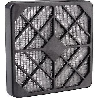 Fan grille with built-in filter (W x H) 12 cm x 12 cm Wallair N40979