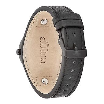 s.Oliver Unisex Watch wristwatch leather SO-3278-LQ