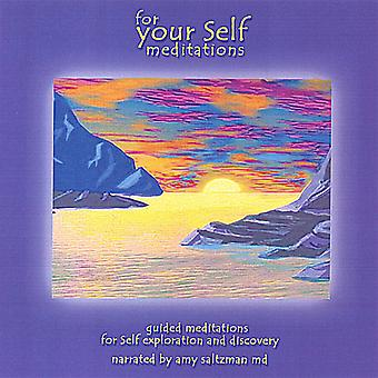 Amy M.D. Saltzman - For Your Self: Meditations USA import