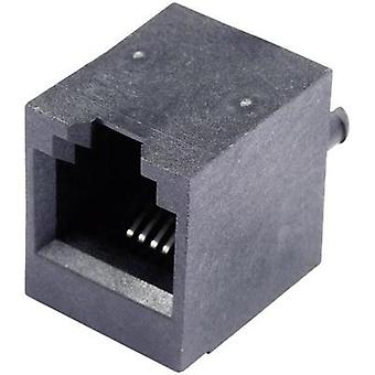 N/A Socket, vertical vertical SS65600-002F Black