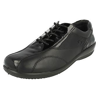 Ladies Padders Wide Fit Lace Up Shoes Rhythm