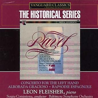 M. Ravel - Ravel: Concerto for the Left Hand; Alborada Gracioso; Rapsodie Espagnole [CD] USA import