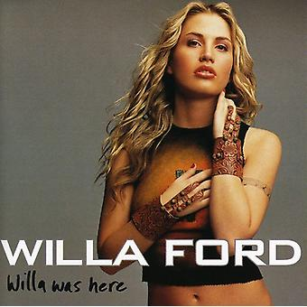 Willa Ford - Willa var her [CD] USA import
