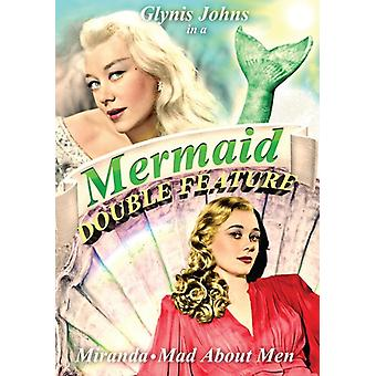 Miranda & Mad About Men: Mermaid [DVD] USA import