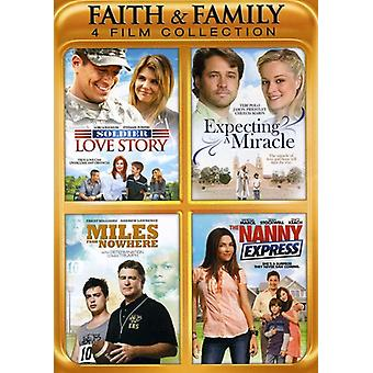 Tro & Family Collection-4 film [DVD] USA importerer