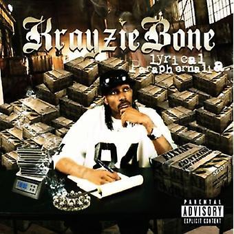 Krayzie Bone - Fixtape Vol. 3-lyriske remedier [CD] USA importerer