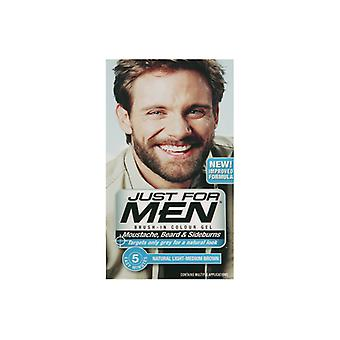 Just For Men Just For Men Brush In Colour Gel Light Med Brown (M30) Facial Hair Colour