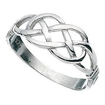 925 серебряные плетеные кольца