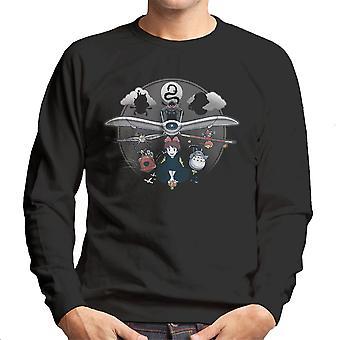 Flight Of Imagination Studio Ghibli mænds Sweatshirt