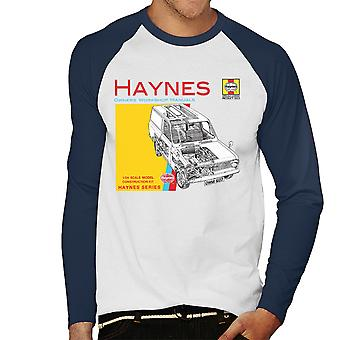 Haynes Owners Workshop Manual 0607 Bedford HA Van Men's Baseball Long Sleeved T-Shirt