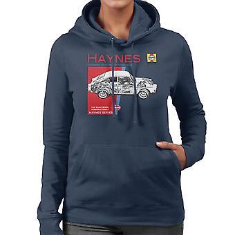 Haynes Besitzer Workshop Manual 0084 Volkswagen 1600 Fastback Frauen die Kapuzen-Sweatshirt