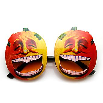 Pumpkin Head Laughing Angry Silly Novelty Halloween Party Sunglasses