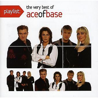 Asso della Base - Playlist: importazione USA The molto migliore di Ace of Base [CD]