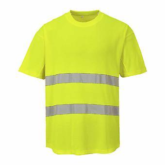 Portwest - HI-Vis sikkerhet Workwear Mesh t-skjorte