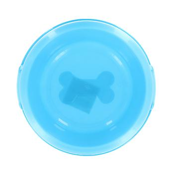 Playful Pets Plastic 20cm Dog Cat Puppy Pet Neon Feeding Water Bowl