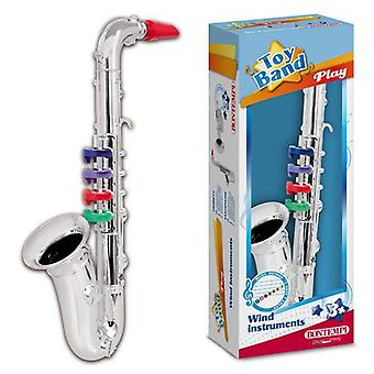 Bontempi Saxo Silver 4 Keys 37 Cm. (Toys , Educative And Creative , Music , Instruments)