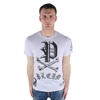 Philipp Plein Mint P17C MTK0306 PJY002N 01 T-Shirt White