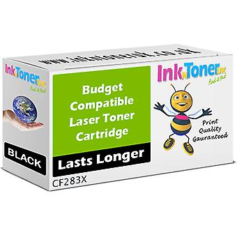 Compatible 83X Black CF283X Cartridge for HP LaserJet Pro M201 MFP