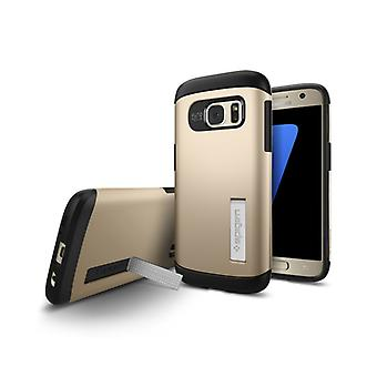 Spigen Slim Armor for Galaxy S7 gold colored