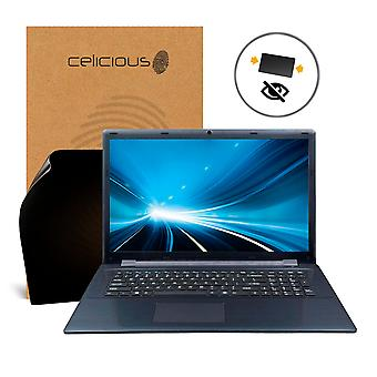 Celicious Privacy Clevo W970LUQ 2-Way Visual Black Out Screen Protector