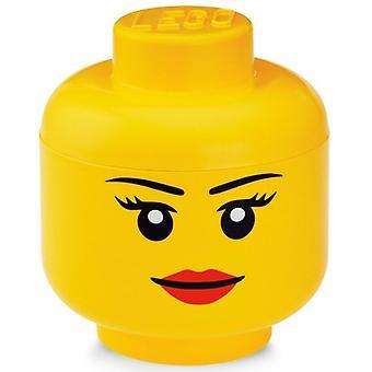 Opbergbox Lego: Head Girls Small