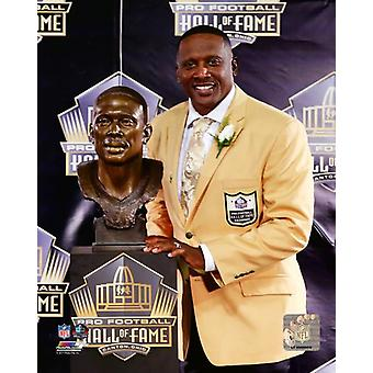 Tim Brown 2015 NFL Hall of Fame Induction Ceremony Photo Print