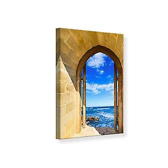 Canvas Print, The Gate To The Sea