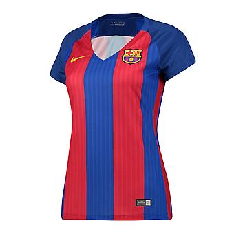 2016-2017 Barcelona Home Nike Ladies Shirt