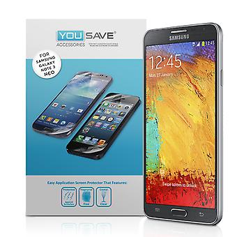 Samsung Galaxy Note 3 Neo Screen Protectors - 3 Pack